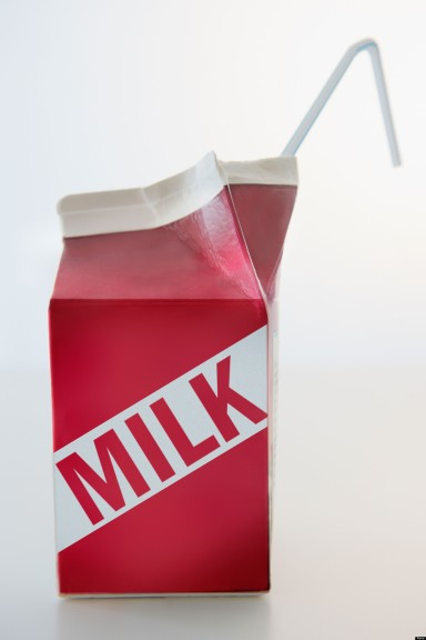 Studio Shot of milk carton. Image shot 2012. Exact date unknown.