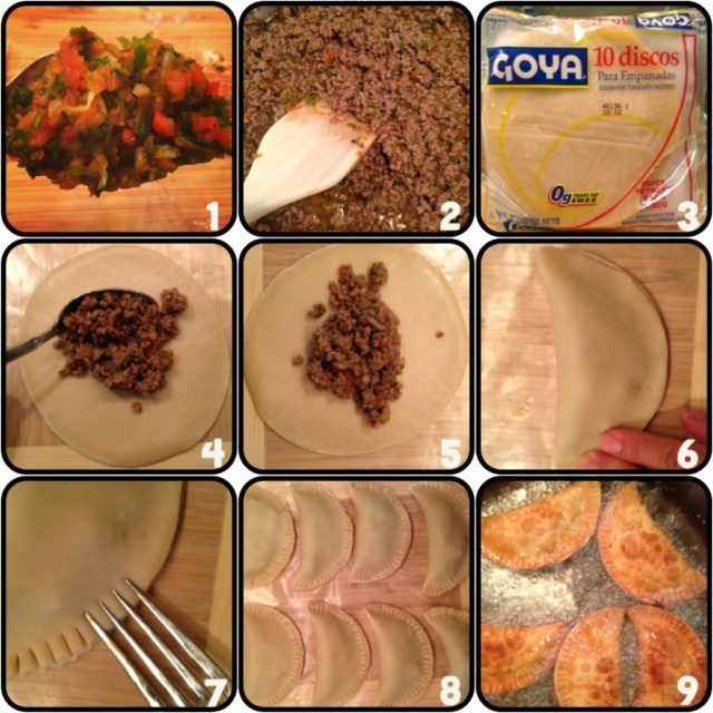 empanadas step by step