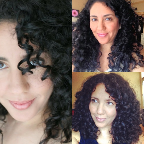 curls varying lengths